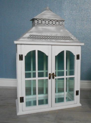 Large Rectangular Lantern with Double Doors